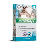 Advantage Caes e Gatos 1,0 ml